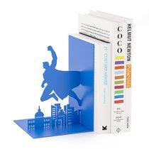 Держатель для книг Superhero синий, цвет синий - Balvi