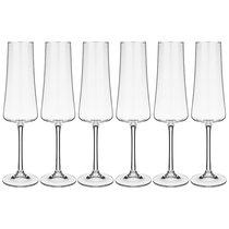 Набор Бокалов Для Шампанского Из 6 Штук Xtra 210 Мл Высота 26, 6 См - Crystalex