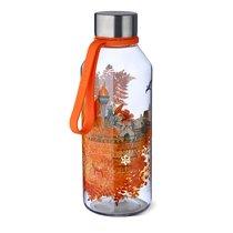 Бутылка спортивная WisdomFlask™ Fire 0.65л, цвет оранжевый - Carl Oscar