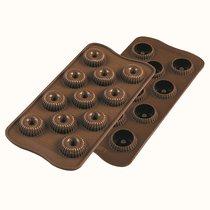 Форма для приготовления конфет Choco Crown 11 х 24 см силиконовая - Silikomart