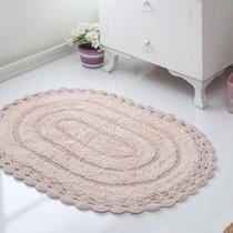 Коврик для ванной Yana, кружевной, цвет бежевый, 50x70 - Bilge Tekstil