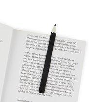 Закладка для книг Graphite черная, цвет черный - Balvi