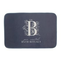 Коврик для ванной Bath Rituals серый, цвет серый - D'casa