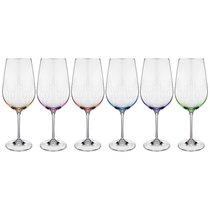 Набор бокалов для вина из 6 шт. VIOLA 550 мл ВЫСОТА 24,5 см - Crystalex