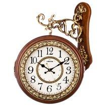 Часы Настенные Кварцевые С Двойным Циферблатом 43X13X55, 5 см Диаметр 26 см - Shantou Lisheng