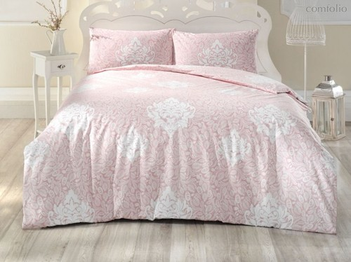 Постельное белье Ranforce 50х70*1 шт SNAZZY, цвет розовый, 1.5-спальный - Altinbasak Tekstil
