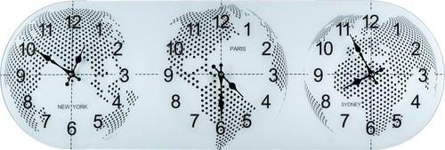 Часы Настенные С Мировым Временем 38x115 см - Guangzhou Weihong