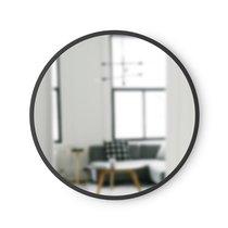 Зеркало настенное Hub D45 черное - Umbra