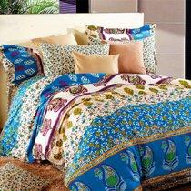 Комплект постельного белья С-132, цвет синий, размер 1.5-спальный - Valtery