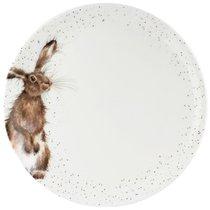 "Тарелка обеденная Royal Worcester ""Забавная фауна"",""Кролик"" 27см, костяной фарфор - Royal Worcester"