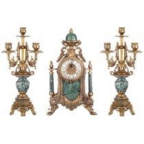 Набор Часы Настольные - Olympus Brass