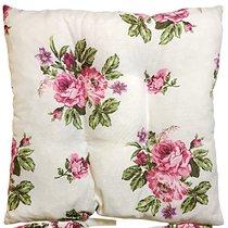 "Подушка на стул ""Мелани"", 41х41 см, 705-2004/1, цвет малиновый - Altali"