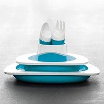 Набор столовый детский голубой - Fabrikators