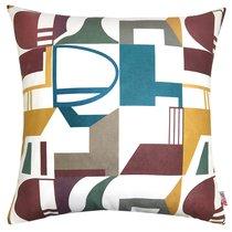 "Чехол для подушки ""Электра"", 43х43 см, 02-2243/2, цвет разноцветный, 43x43 - Altali"