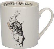 Алиса в стране чудес Кружка Белый кролик 350мл - Creative Tops
