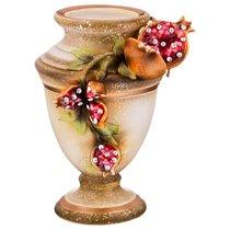 Декоративная Ваза Гранаты Диаметр 15 см Высота 24 см - Ceramiche Stella