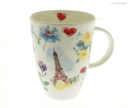 Кружка Париж в цветах Луиза 400 мл - Top Art Studio