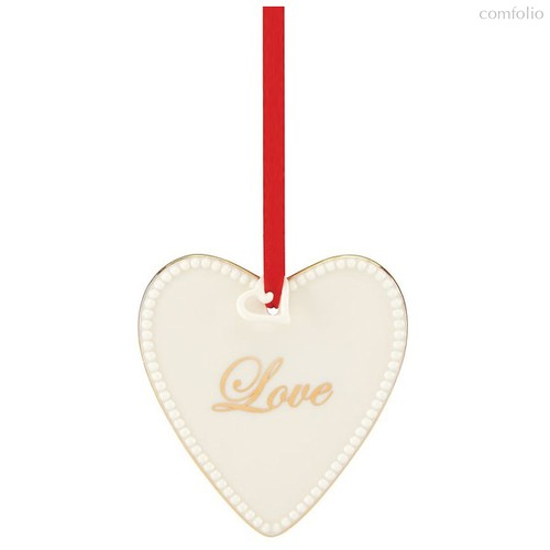 """Украшение новогоднее Lenox """"Сердце.Любовь"""" 9см - Lenox"""