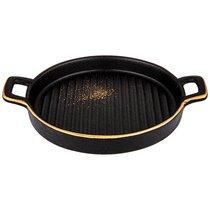 Тарелка С Ручками Bronco Midnight Gold 20,5 см - Towin Ceramics