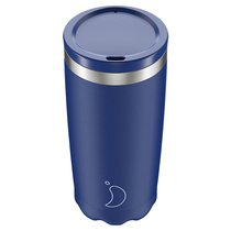 Термокружка Coffee Cup 500 мл Matte Blue - Chilly's Bottles