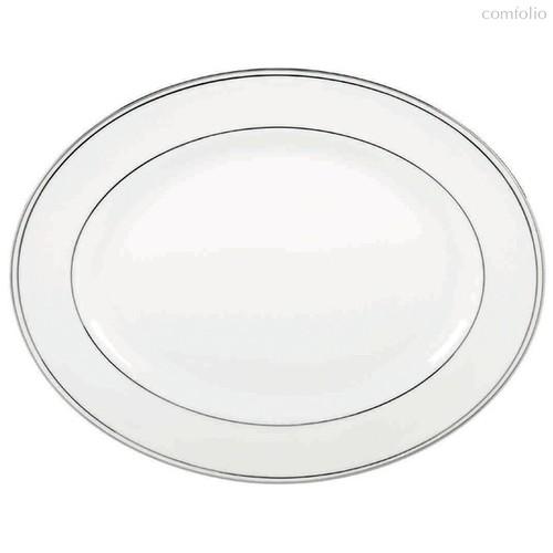 """Блюдо овальное Lenox """"Федеральный,платиновый кант"""" 33см, 33 см - Lenox"""