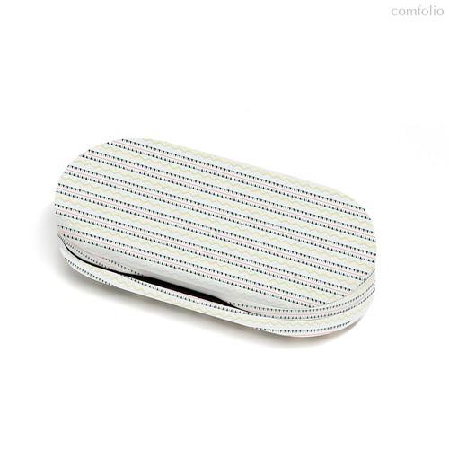 Футляр для очков и контактных линз Twin Etnic, цвет белый - Balvi
