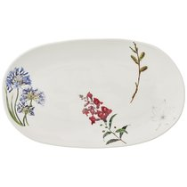 Тарелка Закусочная Овальная Meadow 29x17 см 4 шт. - Сhaoan Jiabao Porcelain