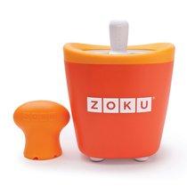 Набор для приготовления мороженого Single Quick Pop Maker оранжевый - Zoku