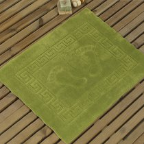 Коврик для ванной Likya, цвет зеленый, размер 50x70 - Karna (Bilge Tekstil)