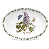 """Блюдо овальное Portmeirion """"Ботанический сад. Сирень"""" 28см - Portmeirion"""