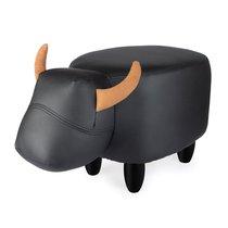 Пуф дизайнерский La Vache черный, цвет черный - Balvi