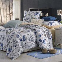 Комплект постельного белья MP-02, цвет белый, Семейный - Valtery