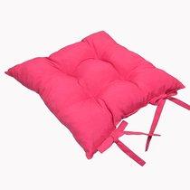 "Подушка на стул ""Фукси"", 41х41 см, P705-Z115/1, цвет малиновый - Altali"