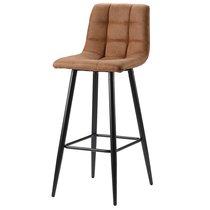 Стул барный Berg, Chilli, 44х44х104 см, коричневый - Berg