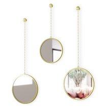 Зеркала декоративные Dima круглые латунь - Umbra