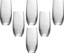 Набор стаканов WATERFALL из 6 шт. 350 мл ВЫСОТА 15 см . - Crystalex