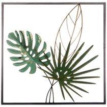 Панно Настенное Коллекция Тропики 50,2x50,2x5,7 см - FUZHOU SMART HOME DECORATION