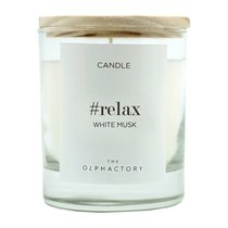 Свеча ароматическая The Olphactory RELAX Белый Мускус 40 ч - Ambientair