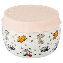 Банка С Силиконовой Крышкой Веселые Друзья 500Мл - Shunxiang Porcelain