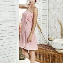 """Набор для сауны """"KARNA"""" женский махровый PARIS 1/3, цвет коралловый, 70x150 - Bilge Tekstil"""