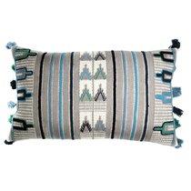 Чехол на подушку с этническим орнаментом Ethnic, 30х60 см - Tkano