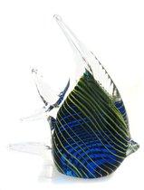 Фигурка Полосатая скалярия 12х13 см - Art Glass
