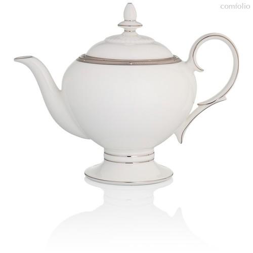 """Чайник 1л """"Рочель, платиновый кант"""" - Noritake"""