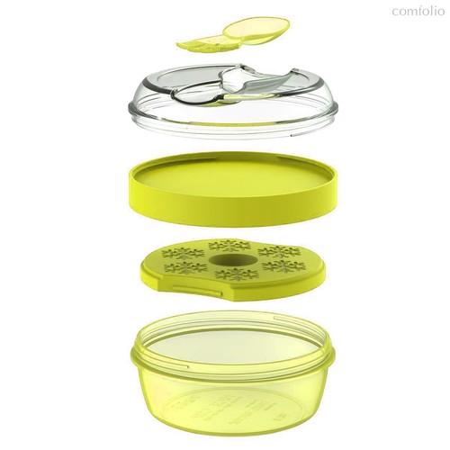 Ланч-бокс с охлаждающим элементом N'ice Cup™ лайм, цвет лайм - Carl Oscar