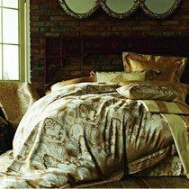 Комплект постельного белья TJ-13, цвет коричневый, размер Евро - Famille