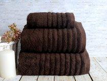 Полотенце банное Wella Kahve, цвет коричневый, размер 50x90 - Irya