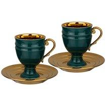Чайный Набор Lefard На 2 Персоны 4 Пр. 250 мл Зеленый - Rongshengyuan