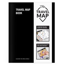 Тетрадь путешествий Travel Map Book - 1DEA.me