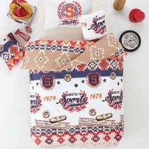 Постельное белье Ranforce Athletik, цвет оранжевый, размер 1.5-спальный - Altinbasak Tekstil
