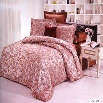 Комплект постельного белья JC-23, цвет коричневый, Семейный - Valtery